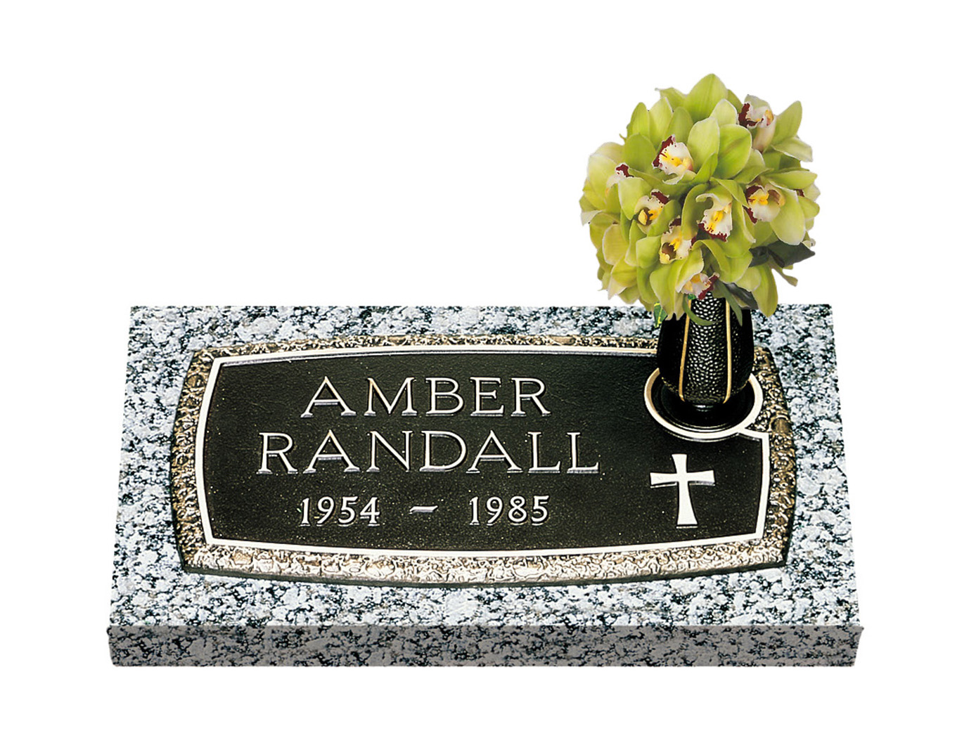 Single bronze grave markers lovemarkers arc of tribute with vase reviewsmspy