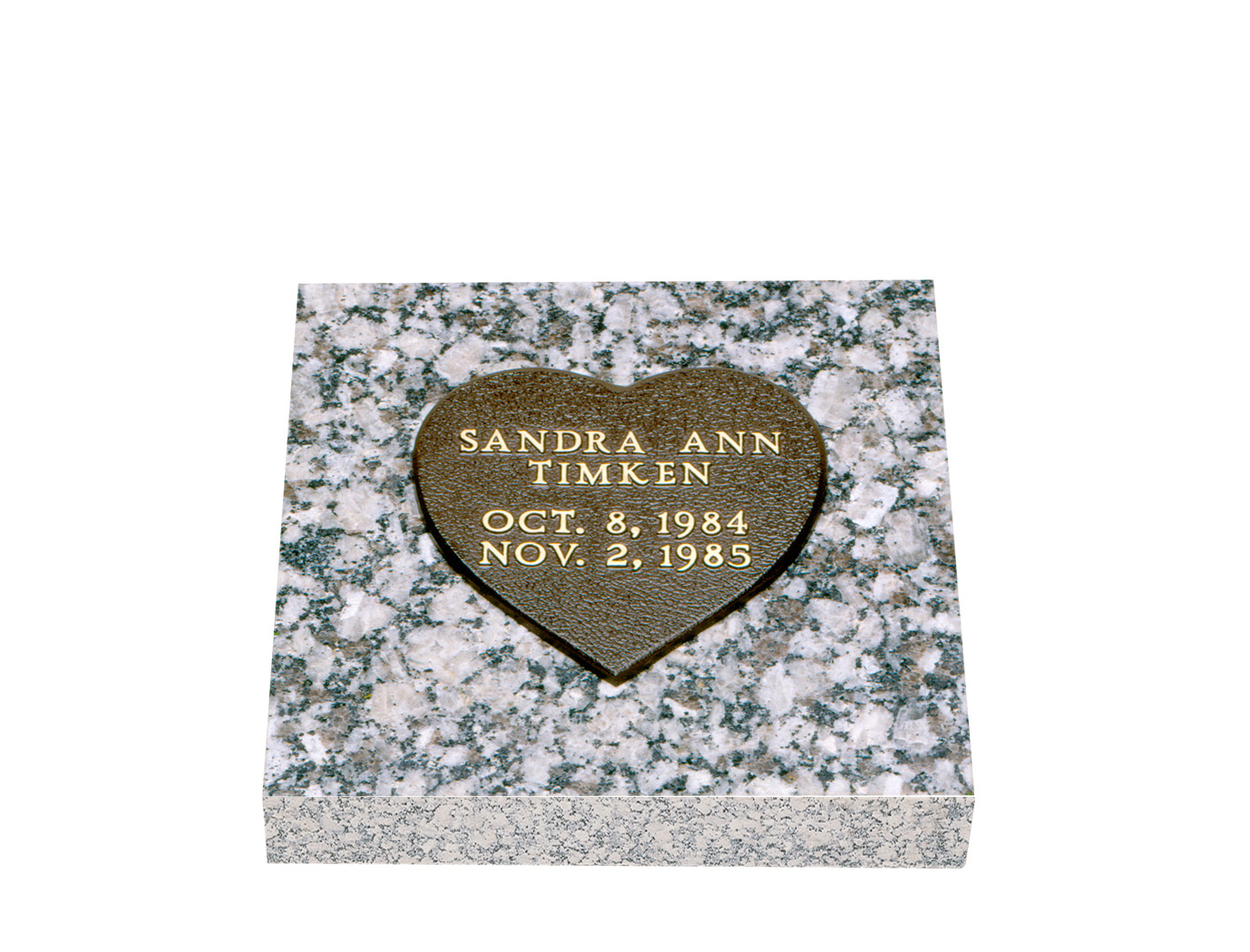 Infant bronze grave markers lovemarkers baby heart reviewsmspy