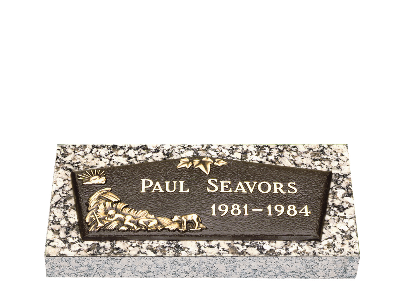 Infant bronze grave markers lovemarkers baby ivy reviewsmspy